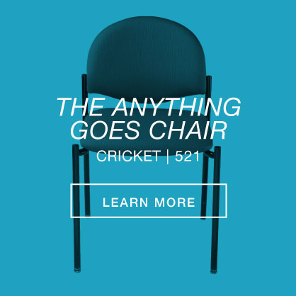 The anything goes chair. Cricket 521